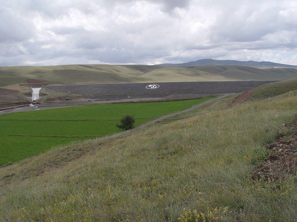 Sivas Şarkışla Kızılçakışla Göleti Ve Sulaması İnşaatı