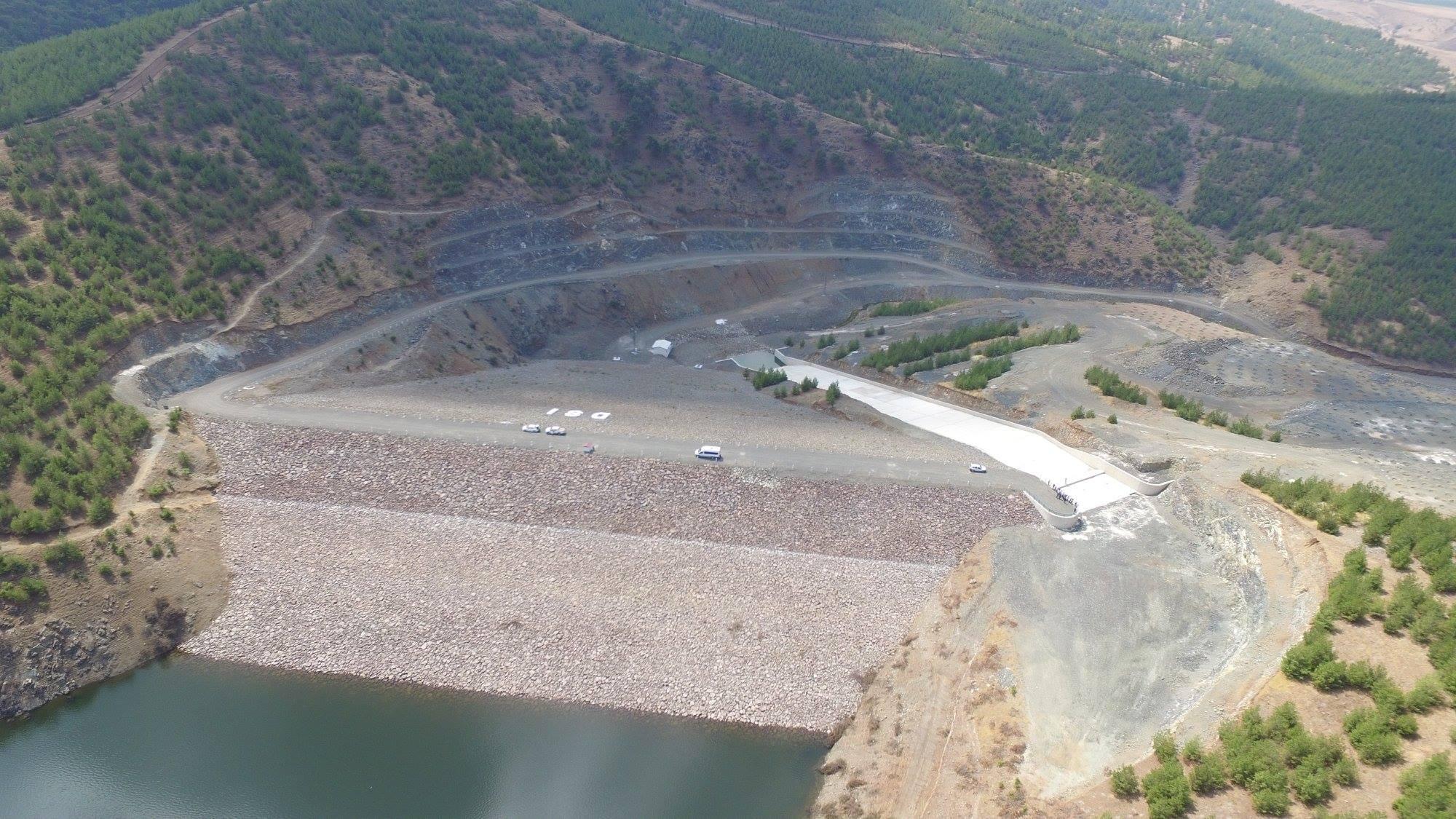 Gaziantep İslahiye Bayraktepe Göleti Ve Sulaması İnşaatı