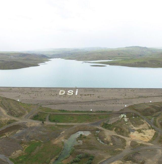 Sivas Şarkışla Kanak Barajı İnşaatı